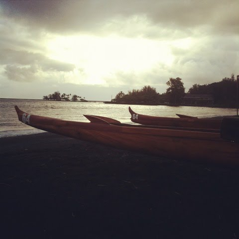 Sister Koa Canoes Laka and Kupa'a